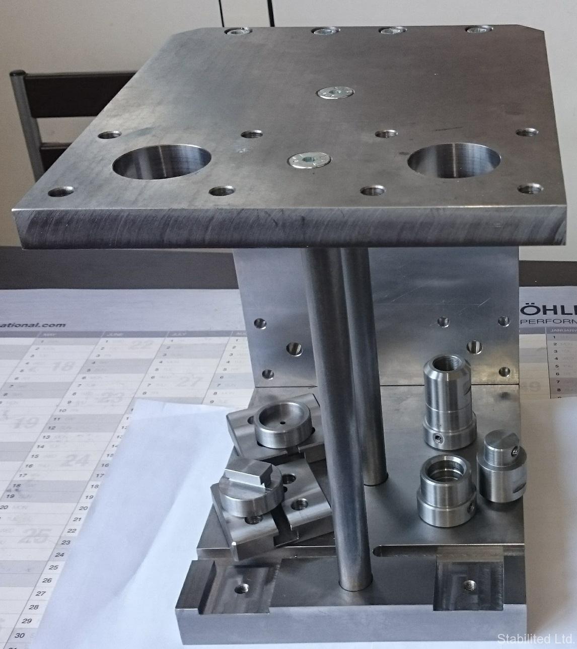Маркираща преса и стенд за тестване на вентили изработени за Данфос България