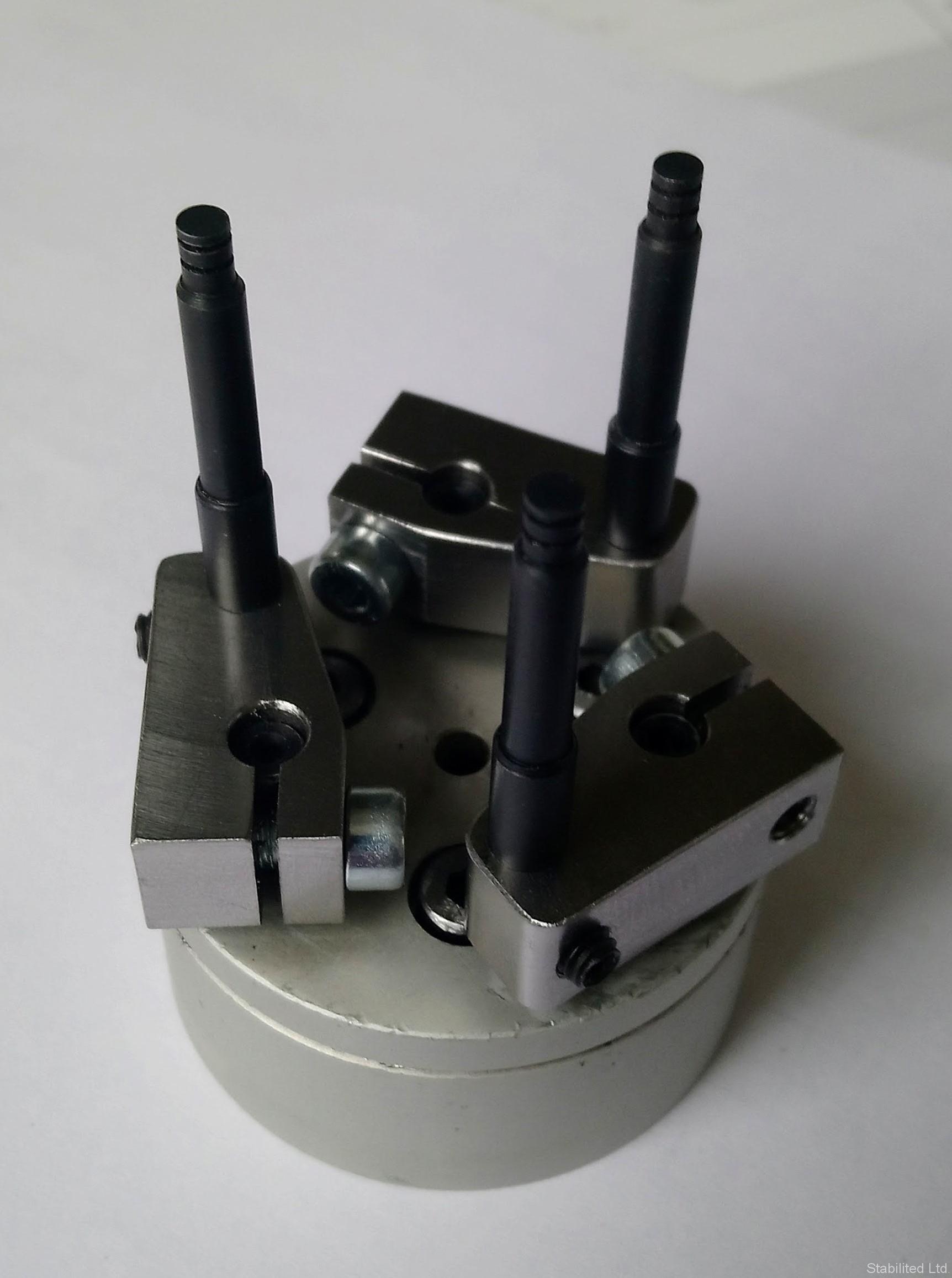 """[:bg]Част за ръка на робот по поръчка на """"Данфосс България""""[:en]Robot's hand machine part manufactured for Danfoss Bulgaria[:]"""